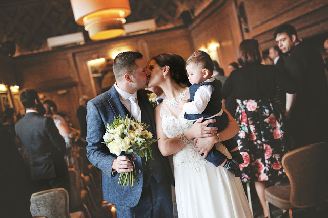 Victoria & Rob married at Abbey House Hotel!