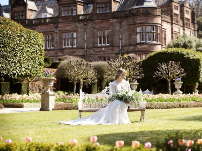 Holker Hall Bridal Shoot